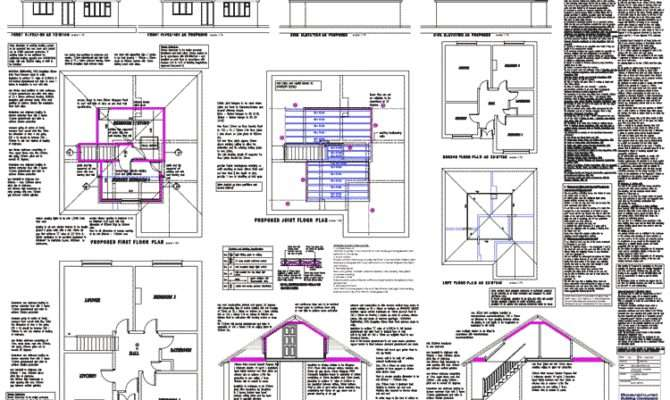 Loft Conversion Floor Plans Attic Dormer Conversions Architectural