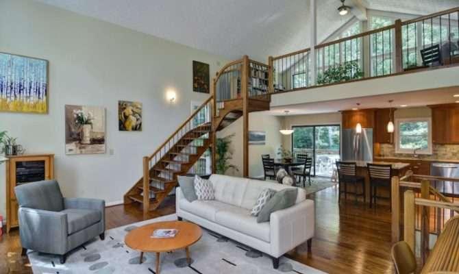 Loft Living Room Designs Ideas Design Trends