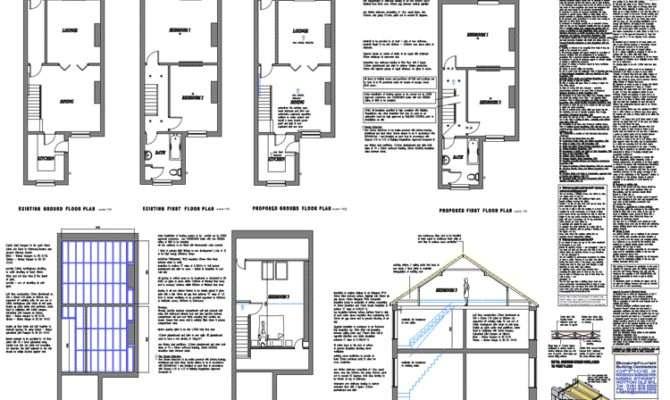 Loft Plans Architectural Floor Building Conversions