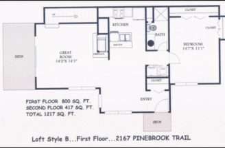 Loft Style Floor Plans House Home Designs