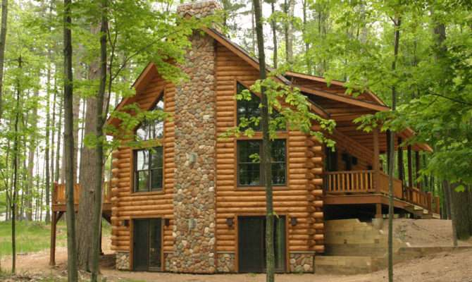 Log Cabin Amazing Sharp Home Design