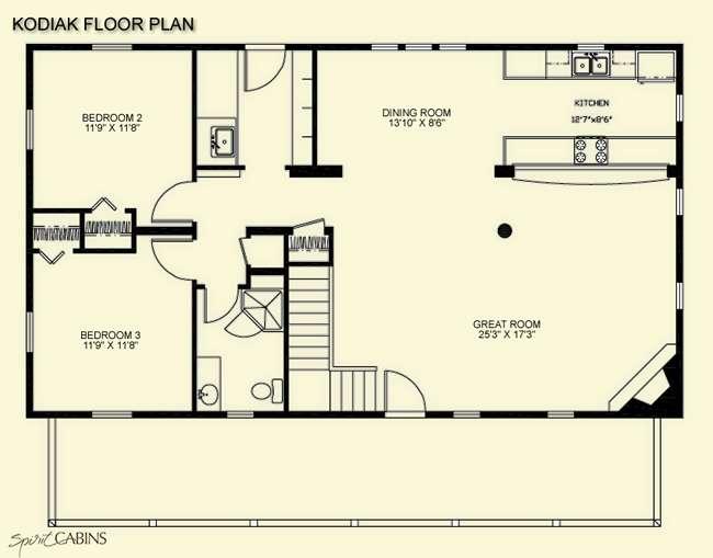 Log Cabin Floor Plans Loft Quotes