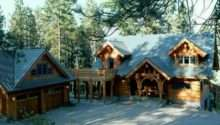 Log Cabin Garage Home Pinterest