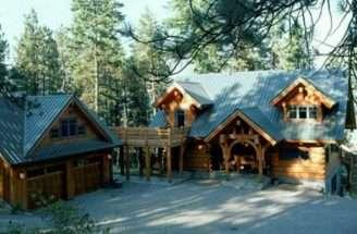 Log Cabin Garage Home Pinterest