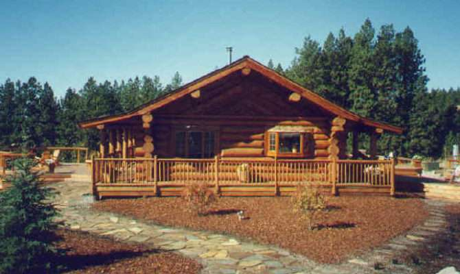 Log Cabin Home Design Kit Plan House