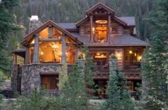 Log Cabin House Design Modern Home Decor