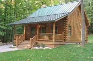 Log Cabin Kits Build Small Blue Ridge