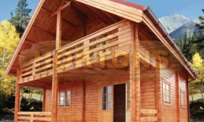 Log Cabin Two Storey House Available Options