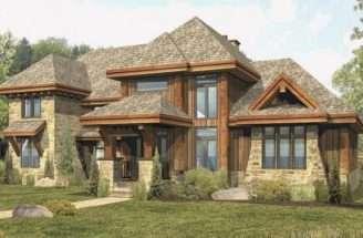 Log Home Floor Plan Tamarack