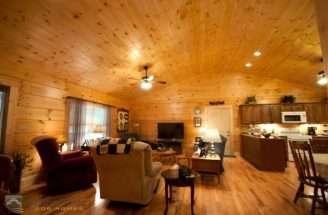 Log Home Interior Custom Timber Homes
