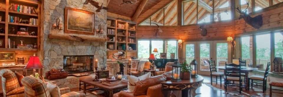 Log Home Interior Design Ideas