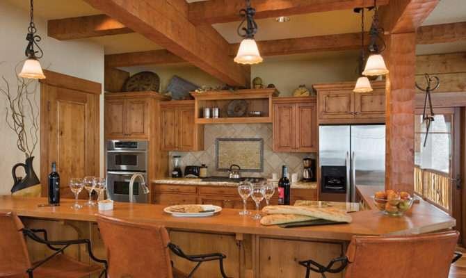 Log Home Kitchens Kitchen Designs Ideas