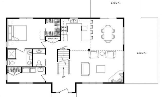 Log Home Plans Open Floor