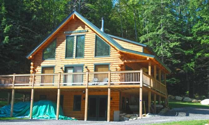 Log Home Plans Walkout Basement Design Style