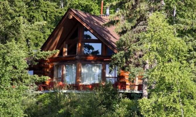 Log Homes Cabins Sale Canada Horsefly