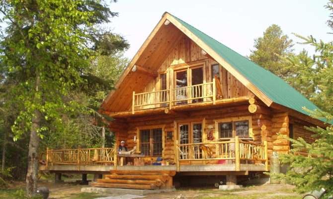 Log Homes Pic