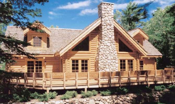 Logan Ridge Vacation Home Plan House Plans