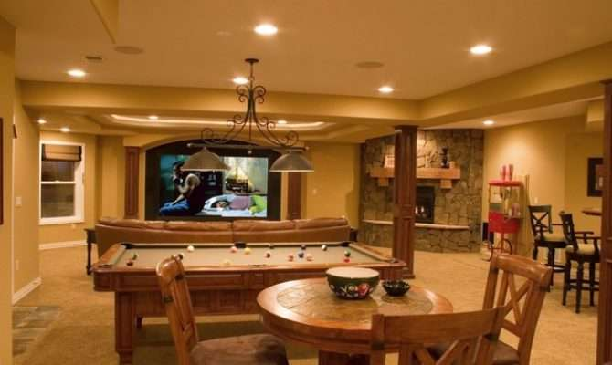 Lone Tree Walk Out Finished Basement Theater Wet Bar