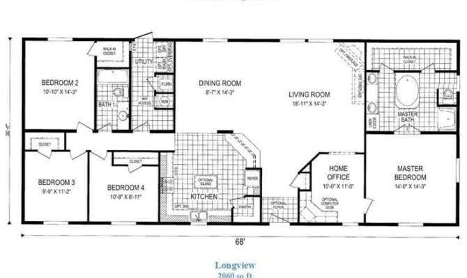 Long Ranch Style House Plans Best Modular Home