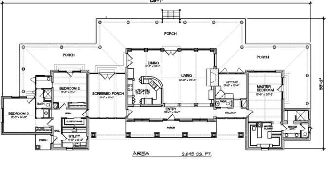 Long Ranch Style House Plans Luxury New