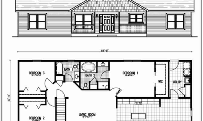 Long Ranch Style House Plans Shoestolose
