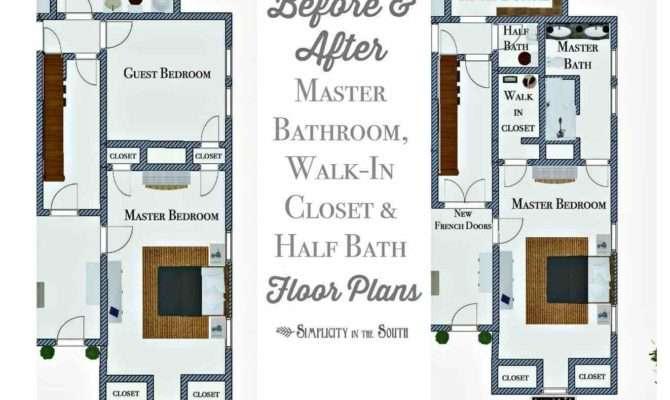 Long Spare Bedroom Hello Master Bathroom Walk