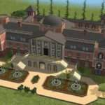 Look Some Mansions Made Sims Homes Rich