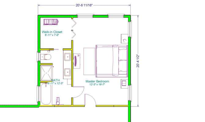 Looking Well Planned Out Master Suite Addition