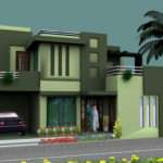 Lovely House Elevation Art Design