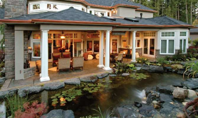 Lovely House Plans Outdoor Living