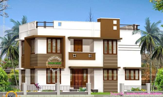 Low Budget Double Storied House Kerala Home Design