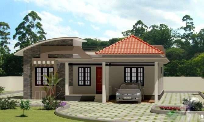 Low Cost Bedroom Modern Kerala Home Plan Budget