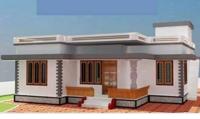 Low Cost Budget Home Design Below Lakhs Homes