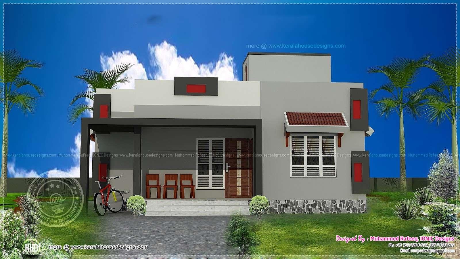 Low Cost House Plan Kerala Home Design Floor Plans
