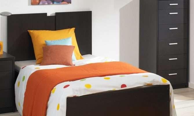 Low Profile Single Bed Design Under Drawer