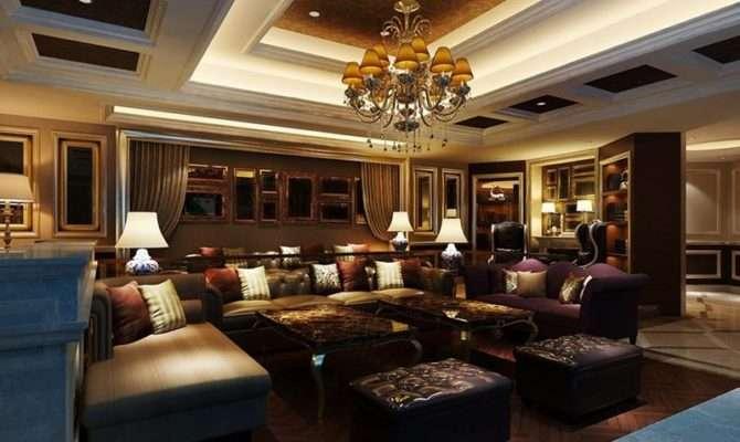 Luxurious Living Room Design Ideas