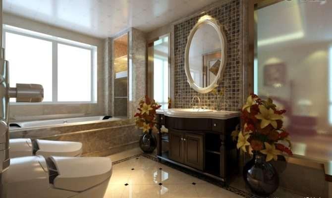 Luxurious Master Bath Renovation Renderings Bathroom