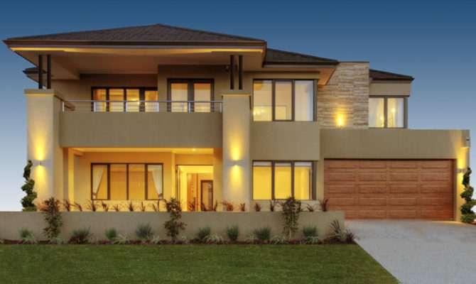 Luxury Australian Double Storey Residential House Home