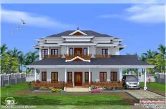 Luxury Bedroom Kerala Style Home Design House Idea