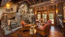 Luxury Big Sky Log Cabins Published Journal Home Magazine