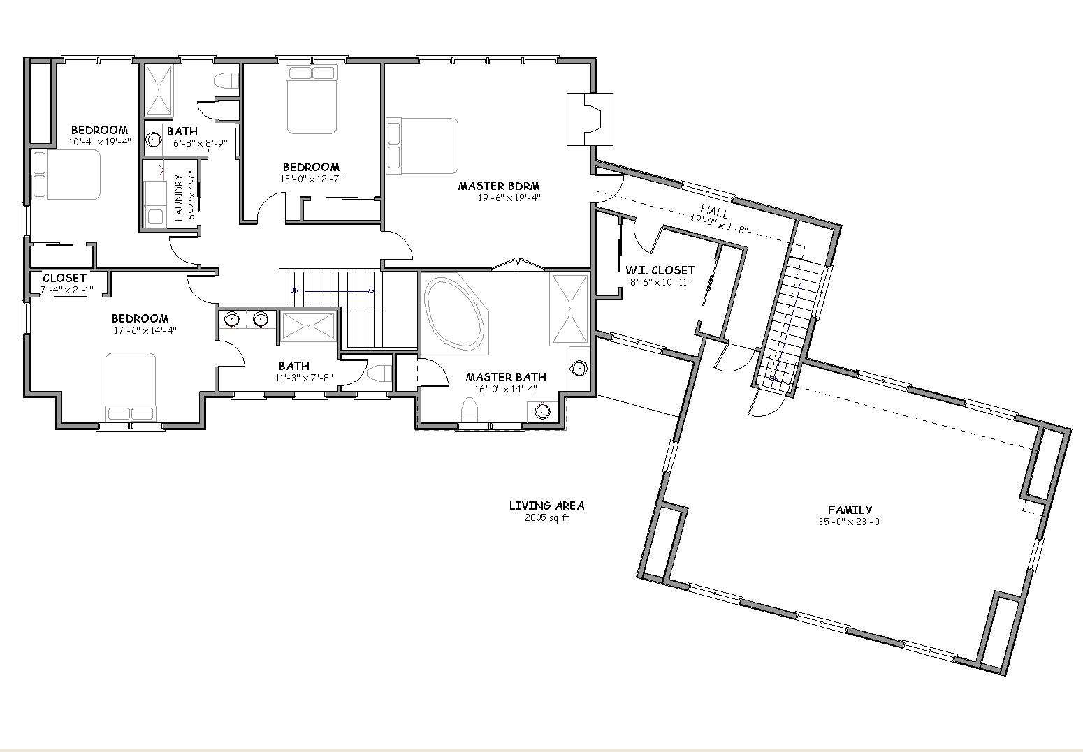 Luxury Cape Cod House Plan Big Country