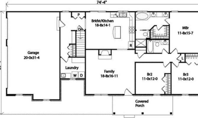 Luxury Car Garage Ranch House Plans New Home Design