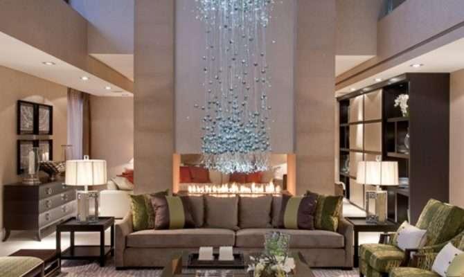Luxury Chandeliers Living Room