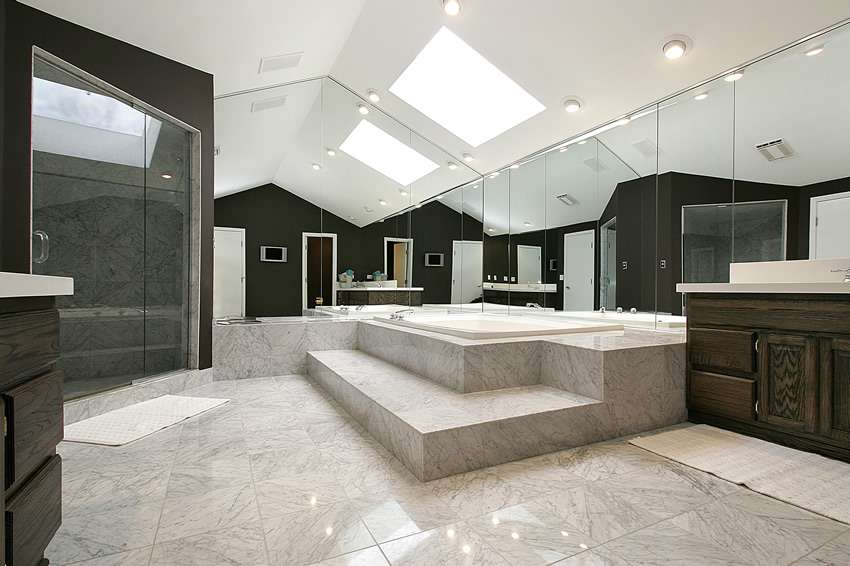 Luxury Custom Bathroom Designs Tile Ideas Designing