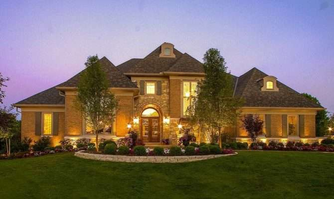 Luxury European House Plan Architectural