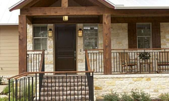 Luxury Front Porch Designs Ranch Style Homes