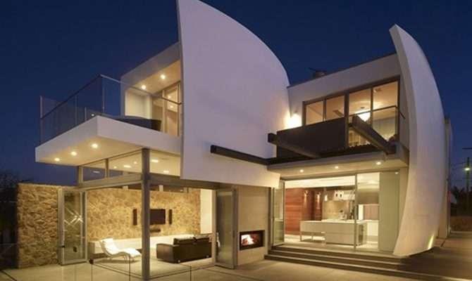 Luxury Home Futuristic Architecture Design Homevero