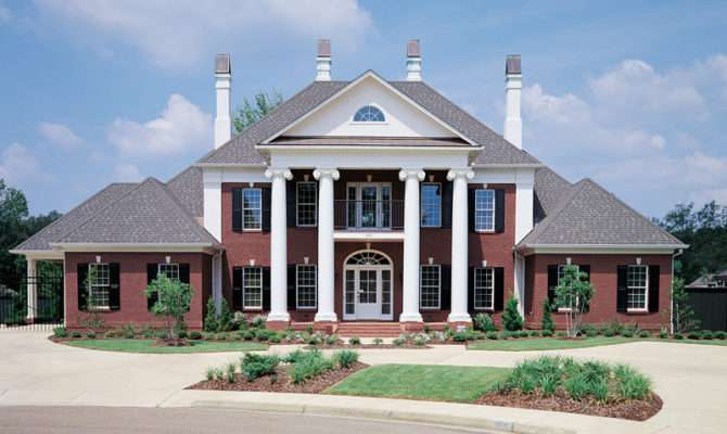 Luxury House Plan Front Home Plans More