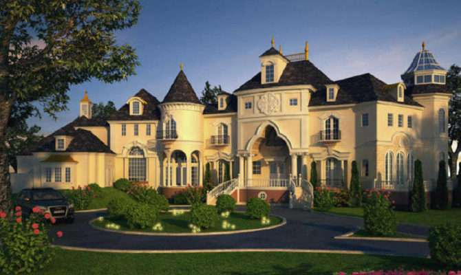 Luxury House Plans Castles Manors Chateaux Palaces