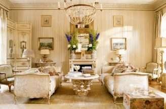 Luxury Living Room Lighting Interior Design Idea